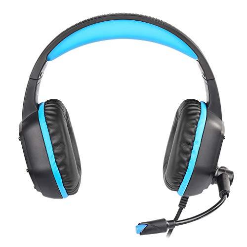 iuchoice K15 Kubite Surround-Sound-Kopfhörer mit Mikrofon (3 Playstation Spiel-rack)