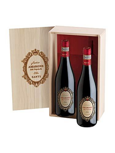 CONFEZIONE AMARONE SANTICO 2bt - Santi - Vino rosso fermo 2014 - Bottiglia 750 ml