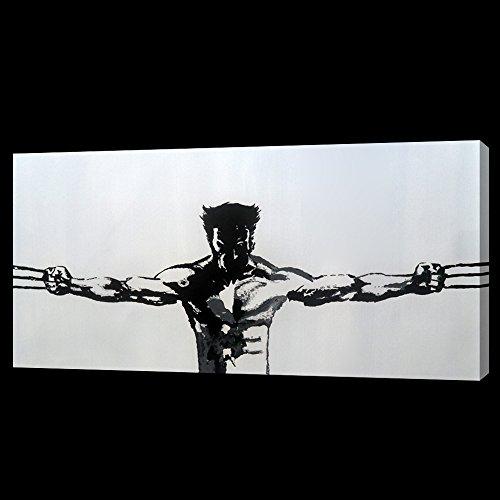 28x 16versión 2de Lobezno (ancho) caja de pintura al óleo sobre lienzo pero enmarcar disponibles en petición, por favor envíenos un correo electrónico para más detalles. Muchos otros Marvel piezas también disponibles así como de cualquier tamaño que desee. Por favor envíenos un correo electrónico para más detalles. X Men Los Vengadores