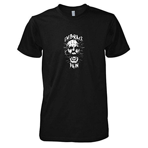(TEXLAB - Pinhead - Herren T-Shirt, Größe XXL, schwarz)