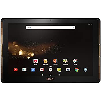 Acer Iconia Tab Black & Gold 10