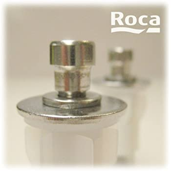 Roca Pair Of Wc Toilet Seat Fixing Pegs For Soft Close