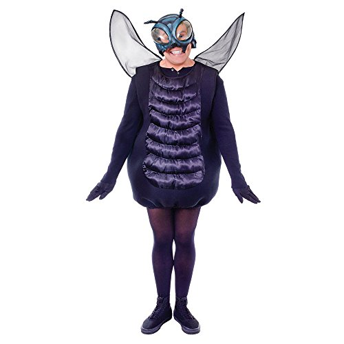 Bristol Novelty Ac991 Costume de Mouche, Medium, Adulte Unisexe, Multicolore, Moyen