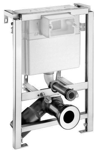 Cornat Vorwand WC-Element, 6/9 L Betätigung von vorne / von oben, 2 Mengen, VWCVO119