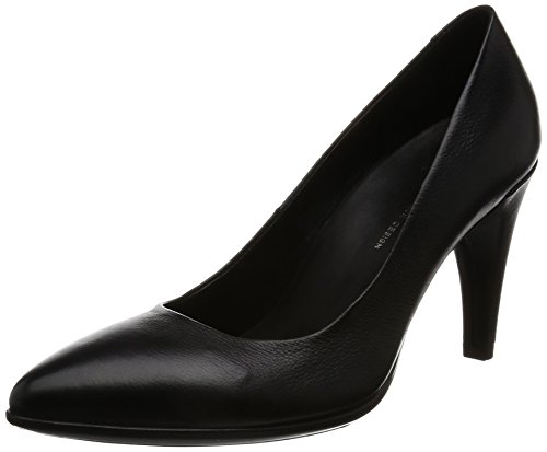 ECCO Damen Shape 75 Pointy Pumps, Schwarz (11001black), 40 EU Pointy Pumps
