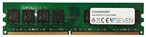 Cl5 Notebook (V7 V764004GBD Desktop DDR2 DIMM Arbeitsspeicher 4GB (800MHZ, CL5, PC2-6400, 240pin, 1.8 Volt))