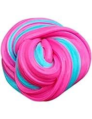Fluffy Slime Spielzeug Xinan Kids Locker Floam Schleim Durtend 60 ml Duftende Stress Relief Kids Clay (60ml, C)