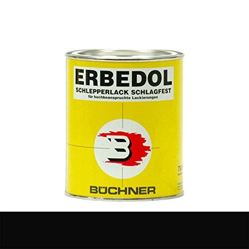 Schwarz RAL 9005 PA 9050 Büchner Erbedol Kunstharzlack 750ml 1119 5379