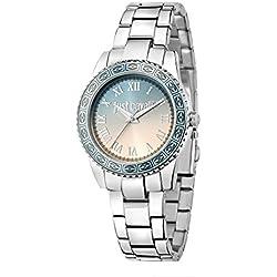 Just Cavalli Damen Uhrenbeweger Collection JUST SUNSET Edelstahl silber R7253202511