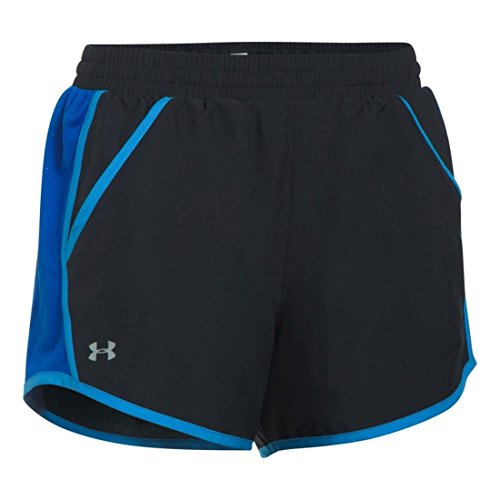 Under Armour Damen Fly By Shorts Kurze Hose, Black, - Elite-basketball-tasche