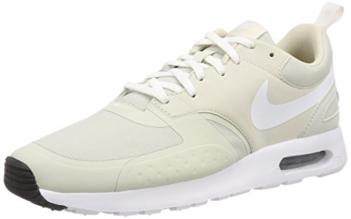 Nike Herren Sneaker Air Max Vision, Weiß (Light Bone/White-Bla 008), 42 EU (Männer Weiß Nike Laufschuhe)