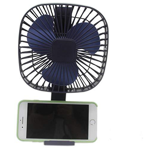 ktop Desktop Silent Fan Studentenparty Mini Wind Wind Blau ()