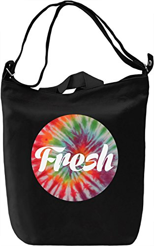 Fresh Tie Dye Leinwand Tagestasche Canvas Day Bag| 100% Premium Cotton Canvas| DTG Printing|