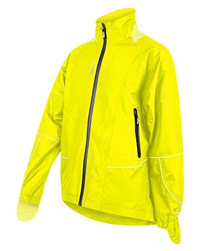 Santini 365 SP50075GR44 - Santini GR44 Rain Jacket Flo Yellow Small
