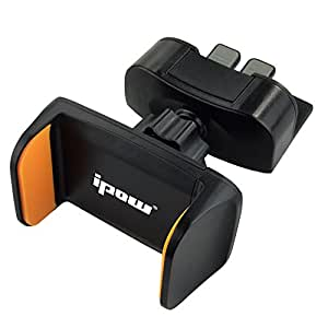 Ipow-® One Touch/Mini CD/fessura Supporto da auto per iPhone 6 Plus/6s// 6s, Galaxy S7/S7 Edge, EdgeS6/S6 Edge, Galaxy Note, 5, 6 Nexus, & smartphone