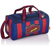 FC Barcelona Barca Fan 5 Borsa sportiva per bambini, 38 cm, 15 liters, Multicolore (Multicolour)
