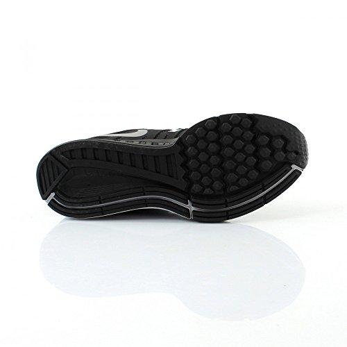 Nike Air Zoom Structure 19 Flash, Scarpe da Corsa Uomo, Nero Nero / Argento / Grigio (Blk / Rflct Slvr-Cl Gry-Pr Pltnm)