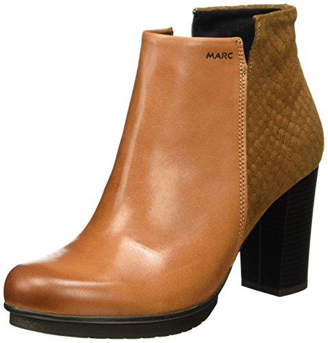 Marc Shoes - Edina, Stivali bassi con imbottitura leggera Donna Marrone (Braun (brandy-combi 00026))
