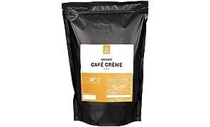 Coffee Circle | Premium Kaffee Café Crème | 1kg ganze Bohne | Vollmundiger Bio Bohnenkaffee für den Vollautomaten | 100% Arabica Blend | fair & direkt gehandelt | frisch & schonend geröstet