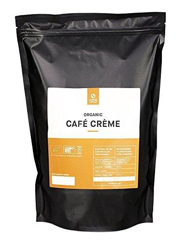 Coffee Circle | Premium Kaffee Café Crème | 1kg ganze Bohne | Vollmundiger Bio Bohnenkaffee für...
