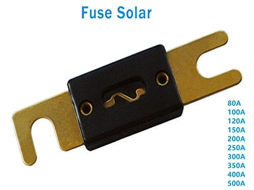 Fusibles y Portafusible Para corriente Directa (120A Fusible solo)