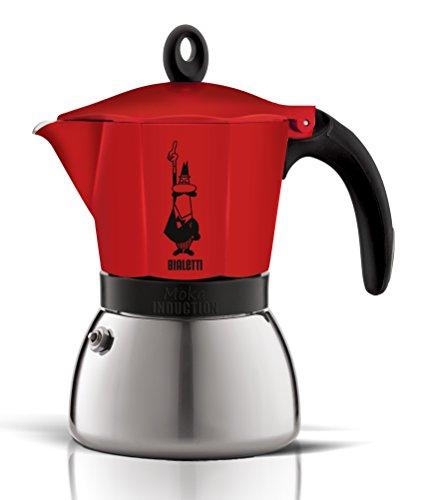 Bialetti Moka Induction - Rojo