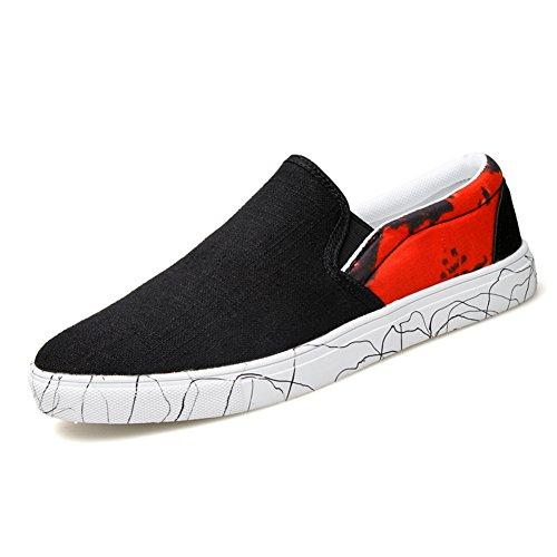 Confortevole e traspirante in estate scarpe/Piedi scarpe casual/Scarpe onda selvaggia Rosso