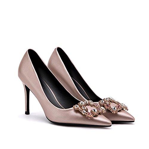 Astuce fine avec talons hauts chaussures 9.5cm