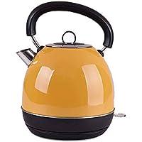 GH&YY 1.8 L Elektrischer Wasserkocher BPA-Frei Edelstahl Wasserkocher Mit Auto-Abschaltung Und Schutz Vor Austrocknen Schnellwasserkocher 1500 W (Rot),Yellow