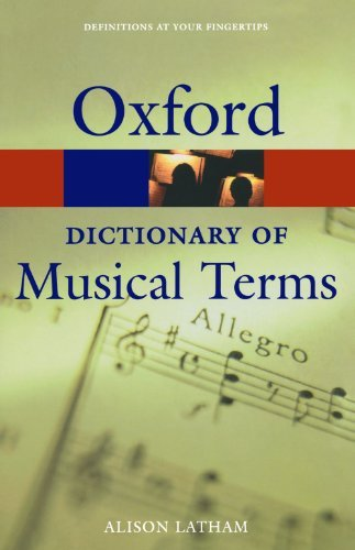 The Oxford Dictionary of Musical Terms (Oxford Quick Reference) (2005-02-03)