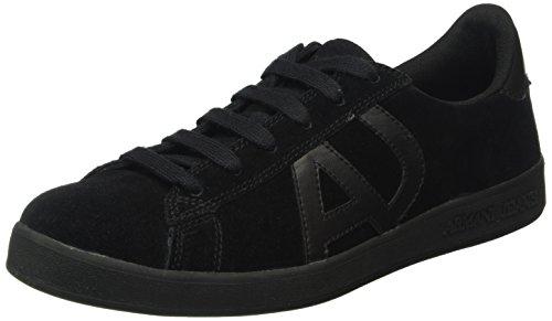 Armani Jeans935565cc501 - Baskets Basses Homme Noir (nero 00020)