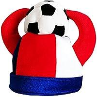 SJB-mz Copa del Mundo De Fútbol Alemania Argentina Decoración De La Barra del Partido De Fútbol con Capucha Sombrero con Capucha, Francia