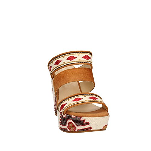 Cafenoir , Damen Sandalen mehrfarbig mehrfarbig Leder