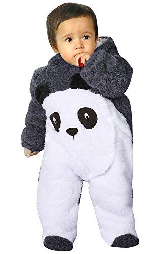 KRAFBEAN - Sac de Couchage Enfant Bébé Chaud Souple Pyjama Hiver en Flanelle pour Bébé Fille Garçon Combinaison Douillette à Capuche Gris 6-12 mois