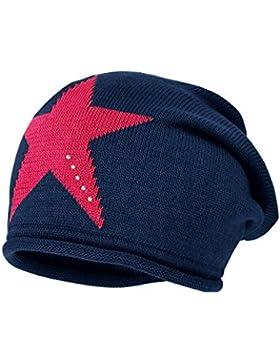 maximo Mädchen Mütze Beanie mit Stern