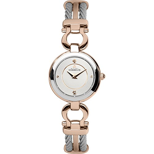 Ladies Michel Herbelin Cable Watch 17422/BTR11