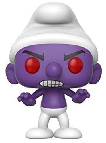 Funko POP animacin Gnap Smurf morado