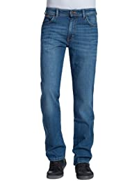 Wrangler Herren, Jeans, TEXAS STRETCH BLACK