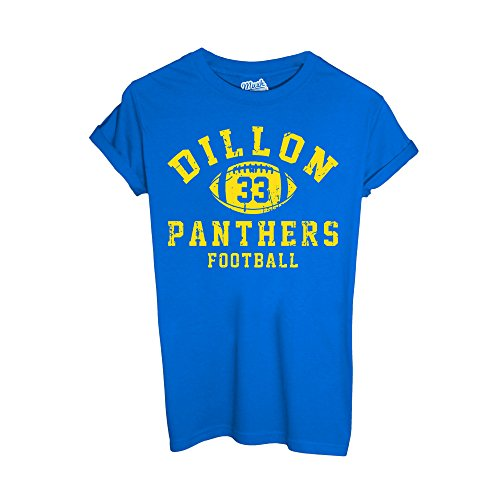 MUSH T-Shirt Dillon Panther Baseball by Dress Your Style - Herren-L-Blau -
