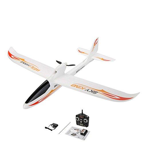 *3-Kanal 2.4GHz RC ferngesteuertes Segelflugzeug, optional erweiterbar mit Kamera, Modellbau Glider, Spannweite von 750mm, Flieger-Modell mit EPO-Material, Komplett-Set inkl. Akku und Fernsteuerung*