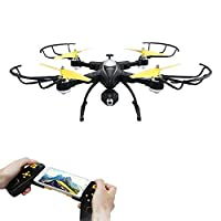POBO RC Drone Foldable WiFi FPV VR Quadcopter with 2MP/720P HD Camera 2.4Ghz 4CH 6 Axis Gyro Remote Control Helicopter by POBO