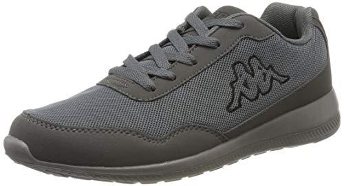 Kappa Unisex-Erwachsene FOLLOW OC Sneaker, Grau (Grey/Black 1611), 38 EU