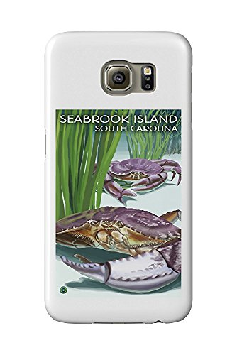 Seabrook Island, South Carolina - Dungeness Crab (Galaxy S6 Cell Phone Case, Slim Barely There) -