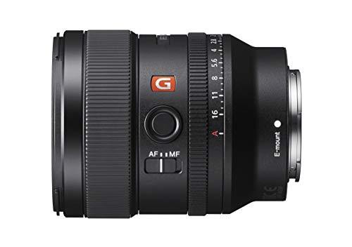 Sony SEL-24F14GM G Master Weitwinkel Objektiv (24mm, F1.4, Vollformat, geeignet für Alpha 9, Alpha 7, A6000, A5100, A5000 und Nex Serien, E-Mount) schwarz