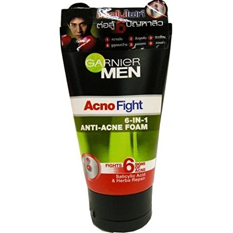 Garnier Men acno Fight Foam 50 ml NEW acido Free Shipping Made From Thailand
