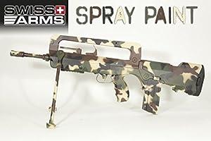 Swiss Arms Peinture pour répliques en métal et plastique Marron 400 ml