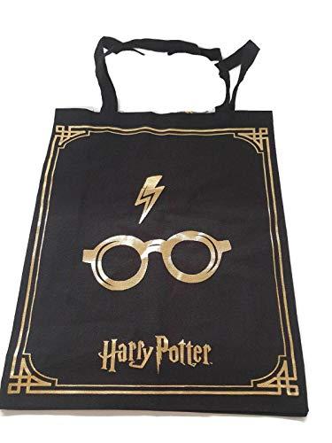Harry Potter Oficial Bolsa Mujer Bolsa Lona Reutilizable