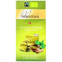 Maestrani Swiss Organic Vegan Matcha & Minze, 80g