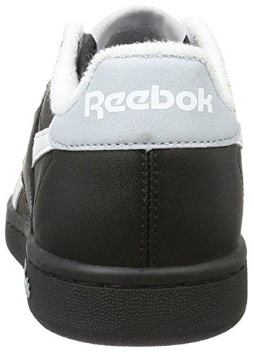 Reebok Unisex-Erwachsene Npc Uk Retro Low-Top Schwarz (black/white/cloud Grey)