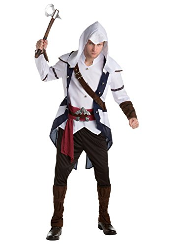 Assassins Creed: Connor Classic Adult Fancy dress costume X-Large